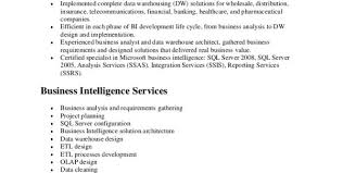 Etl Resume Architect Job Description Martinsson 5 High Level Data