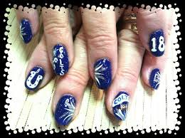 69 best colts nails images on pinterest make up blue nails and