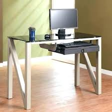 Desk At Office Max Officemax Clear Glass Desk Office Design