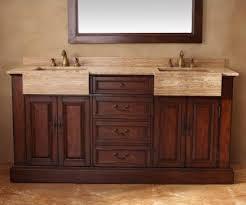 Home Hardware Bathroom Vanities by Malana Bathroom Vanity With Integrated Travertine Farmhouse Sink
