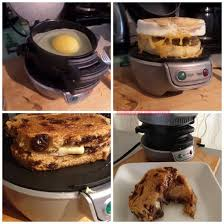 Breakfast Sandwich Toaster My New Kitchen Gadget The Sandwich Maker I Am The Maven