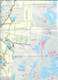 Appalachian Trail Massachusetts Map by Hiking Trails In Myles Standish State Forest