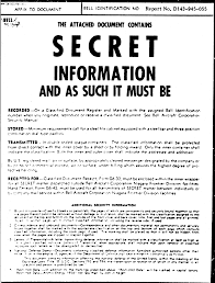top secret report template intersect