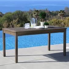 Outdoor Sofa Table by Wood Patio Furniture You U0027ll Love Wayfair