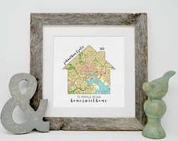 gifts for home personalized housewarming gifts personalized home map first
