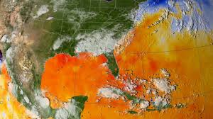 Current Temperature Map Svs Hurricane Katrina Sea Surface Temperature