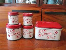 vintage metal kitchen canisters tin canisters kitchen seo03 info