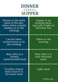 difference between thanksgiving and christmas difference between dinner and supper definition regional