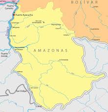 Venezuela Map Map Of Amazonas U2013 Mission Padamo Aviation