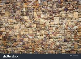 stone wall texture natural stone wall texture background stock photo 207074932