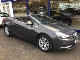 opel cascada convertible used vauxhall cascada convertible 2 0 cdti 16v se 2dr start stop