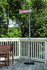 paramount stainless steel infrared patio heater with telescoping