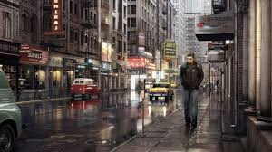 hd lonely in the city wallpaper free 149789