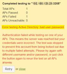 troubleshooting active directory authentication with sign on