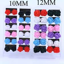 plastic stud earrings discount mixed earrings plastic studs 2017 mixed earrings
