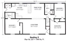 1500 square foot ranch house plans 1300 sq ft house plans unique 2 ranch house plan brick bungalow with