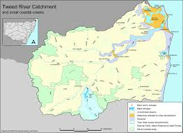 Map Of Rivers Tweed River Catchment Map