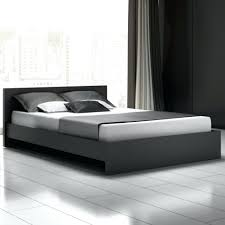 bedroom italian leather bed dark brown platform bed bed with