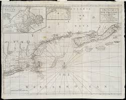 Map Of New England Coast by A Map Of The Coast Of New England From Staten Island To The