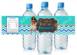 thanksgiving water bottle labels moana water bottle label printable moana by printablesmirtagyle