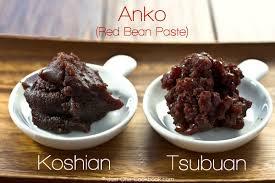 cuisine japonaise calories bean paste tsubuan recette recettes coréennes