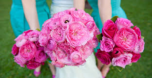wedding flowers pink pink wedding flowers blue sky weddings