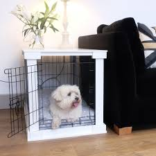 dog crate dog crate cover puppies pinterest crate white wooden dog crate cover crate combo
