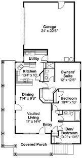 narrow lot lake house plans house plan 82251 total living area 1705 sq ft 3 bedrooms 2