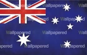 Aussie Flag Australia Flag Wall Mural
