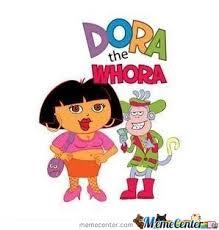 Dora The Explorer Meme - dora the explorer by billgoodgift meme center