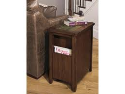 null furniture chairside table null furniture 5013 5013 22 chairside cabinet with magazine storage