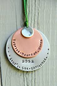 Christmas Ornaments Baby The 25 Best Baby First Christmas Ornament Ideas On Pinterest