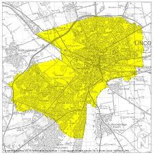 lincoln city map aqma details defra uk