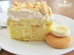 banana pudding poke cake the country cook