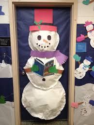snowman door decorations jungle classroom charts for teachers classroom ideas