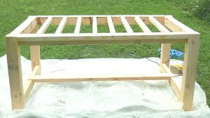 Simple Dining Table Plans Bench How To Build A Bench Seat For Kitchen Table Diy Farmhouse