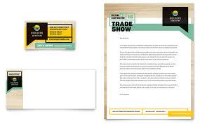 builder u0027s trade show business card u0026 letterhead template design