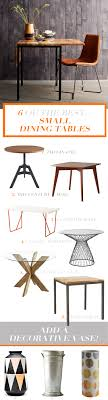 best dining tables for small six of the best small space dining tables bright bazaar by will