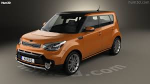 kia soul 2017 360 view of kia soul turbo 2017 3d model hum3d store