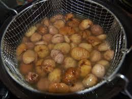 cuisiner les marrons frais les marrons glacés maison c est trop bon aux portes du paradis