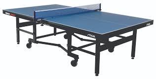 stiga deluxe table tennis table cover premium compact stiga north america