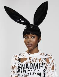 naomi campbell rocks the pixie haircut in paper magazine naomi