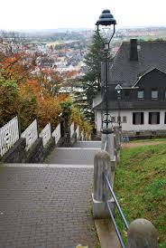Bad Nauheim Bad Nauheim Treppen Von Johannisberg Rtg Höhenweg Mapio Net