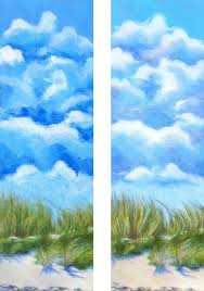 kjf design dunes and clouds colored pencil and neocolor