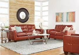 Rust Sofa Vittorio Furniture Collection
