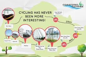 Map East Coast Bike Rental Ecp Eastern Coastal Pcn Coastline Leisure