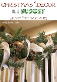 inexpensive diy garland garlands craft and diy