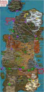 kalimdor map of warcraft newbie fast track guide