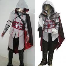 Assassins Creed Halloween Costumes Aliexpress Buy Assassins Creed Costume Kids Cosplay Ezio