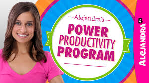 alejandra tv power productivity program by alejandra tv how to stay organized